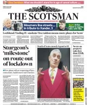 The Scotsman front page for 10 July 2020