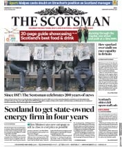 The Scotsman (UK) Newspaper Front Page for 11 October 2017