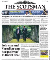 The Scotsman (UK) Newspaper Front Page for 11 October 2019