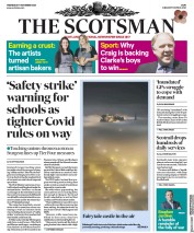 The Scotsman front page for 11 November 2020