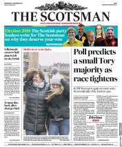 The Scotsman () Newspaper Front Page for 11 December 2019