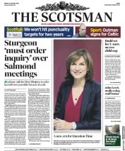 The Scotsman (UK) Newspaper Front Page for 11 January 2019