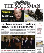 The Scotsman (UK) Newspaper Front Page for 11 January 2020