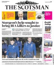 The Scotsman (UK) Newspaper Front Page for 11 February 2017