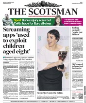 The Scotsman (UK) Newspaper Front Page for 11 February 2019
