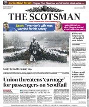 The Scotsman (UK) Newspaper Front Page for 11 March 2019