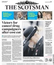 The Scotsman (UK) Newspaper Front Page for 11 April 2017