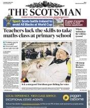 The Scotsman (UK) Newspaper Front Page for 11 May 2017