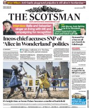 The Scotsman (UK) Newspaper Front Page for 11 May 2018