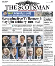 The Scotsman (UK) Newspaper Front Page for 11 June 2019