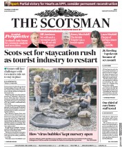 The Scotsman (UK) Newspaper Front Page for 11 June 2020