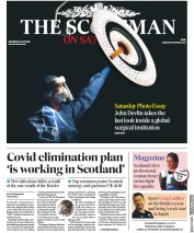 The Scotsman front page for 11 July 2020
