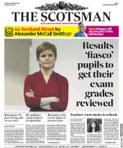 The Scotsman front page for 11 August 2020