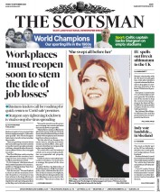 The Scotsman front page for 11 September 2020