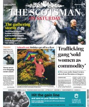 The Scotsman (UK) Newspaper Front Page for 12 October 2019