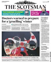 The Scotsman front page for 12 November 2020