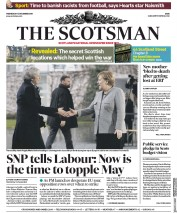The Scotsman (UK) Newspaper Front Page for 12 December 2018