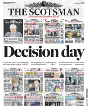 The Scotsman () Newspaper Front Page for 12 December 2019