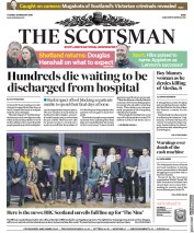 The Scotsman () Newspaper Front Page for 12 February 2019