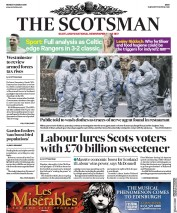 The Scotsman (UK) Newspaper Front Page for 12 March 2018