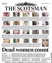 The Scotsman front page for 12 March 2021