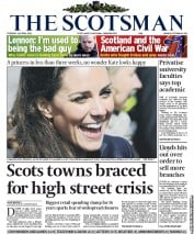 The Scotsman (UK) Newspaper Front Page for 12 April 2011