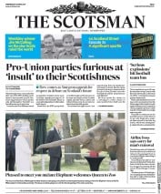 The Scotsman (UK) Newspaper Front Page for 12 April 2017