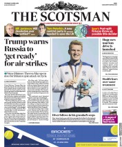 The Scotsman (UK) Newspaper Front Page for 12 April 2018
