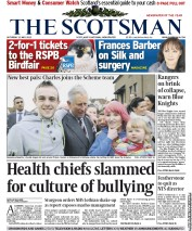 The Scotsman Newspaper Front Page (UK) for 12 May 2012