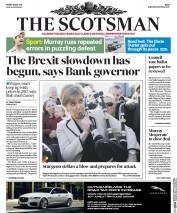 The Scotsman (UK) Newspaper Front Page for 12 May 2017