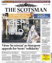 The Scotsman front page for 12 May 2020