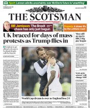 The Scotsman (UK) Newspaper Front Page for 12 July 2018