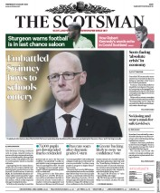 The Scotsman front page for 12 August 2020