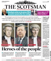 The Scotsman () Newspaper Front Page for 12 September 2019