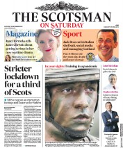 The Scotsman (UK) Newspaper Front Page for 12 September 2020