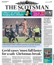The Scotsman front page for 13 November 2020