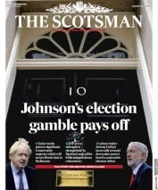 The Scotsman (UK) Newspaper Front Page for 13 December 2019
