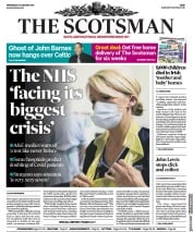 The Scotsman front page for 13 January 2021
