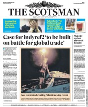 The Scotsman (UK) Newspaper Front Page for 13 February 2017