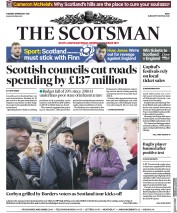 The Scotsman (UK) Newspaper Front Page for 13 February 2018