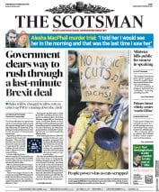 The Scotsman (UK) Newspaper Front Page for 13 February 2019