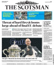The Scotsman (UK) Newspaper Front Page for 13 March 2017