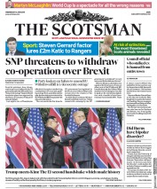 The Scotsman (UK) Newspaper Front Page for 13 June 2018
