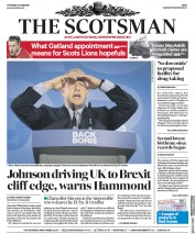 The Scotsman (UK) Newspaper Front Page for 13 June 2019