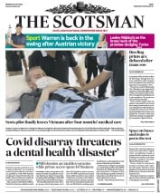 The Scotsman front page for 13 July 2020