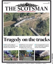 The Scotsman front page for 13 August 2020