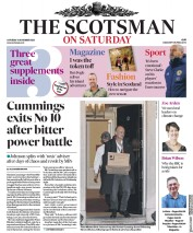 The Scotsman front page for 14 November 2020