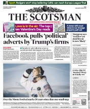 The Scotsman () Newspaper Front Page for 14 February 2019