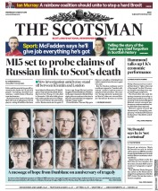 The Scotsman (UK) Newspaper Front Page for 14 March 2018