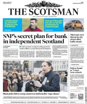 The Scotsman (UK) Newspaper Front Page for 14 April 2017